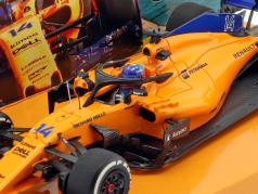 Fernando Alonso McLaren MCL33 #14 spansk GP formel 1 2018 1:43 Minichamps