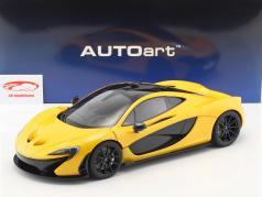 McLaren P1 ano de construção 2013 vulcão amarelo 1:12 AUTOart