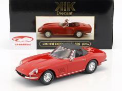 Ferrari 275 GTS/4 NART Spyder avec jantes en alliage année de construction 1967 rouge 1:18 KK-Scale