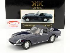 Ferrari 275 GTS/4 NART Spyder com jantes de liga leve ano de construção 1967 azul escuro 1:18 KK-Scale