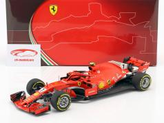 Kimi Räikkönen Ferrari SF71H #7 3 australien GP formule 1 2018 1:18 BBR