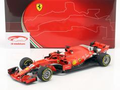 Sebastian Vettel Ferrari SF71H #5 gagnant australien GP formule 1 2018 1:18 BBR