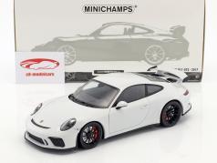Porsche 911 (991 II) GT3 anno di costruzione 2017 carrara bianco metallico 1:18 Minichamps