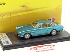 Ferrari 330 GT 2 2 S/N 7161 GT Personal Car Enzo Ferrari year 1965 bleu metallic 1:43 BBR