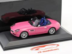 BMW Z8 rosa 1:43 Minichamps / falso sobreembalaje