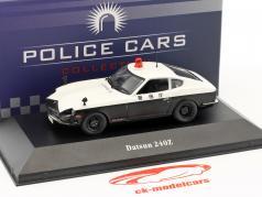 Datsun 240Z polícia Japão preto / branco 1:43 Atlas
