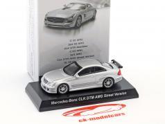 Mercedes-Benz CLK DTM AMG Street Version silver 1:64 Kyosho