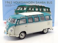 Volkswagen VW T1 Samba Bus year 1962 turquoise / beige 1:12 Sunstar