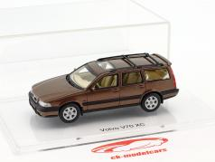 Volvo V70 XC year 1997 sandstone brown metallic 1:43 DNA Collectibles