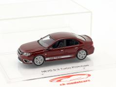 Nevs 9-3 Turbo Prototyp Saab 99 Turbo Tribute Baujahr 2014 cardinal rot 1:43 DNA Collectibles