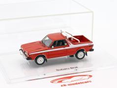 Subaru Brat Pick-Up year 1978 brilliant red 1:43 DNA Collectibles