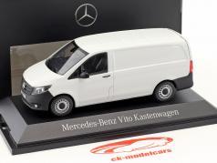 Mercedes-Benz Vito Kastenwagen arktik weiß 1:43 Norev MB