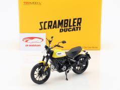 Ducati Scrambler Classic 803cc Icon '62 gul / sort 1:12 TrueScale