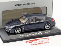 Porsche Panamera 4S Executive Gen II. Baujahr 2014 dunkel blau 1:43 Minichamps