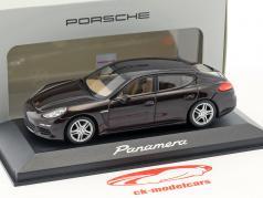Porsche Panamera S Gen. II Bouwjaar 2014 mahonie 1:43 Minichamps