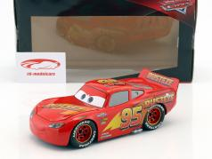 Lightning McQueen with Tire Set Disney Movie Cars 3 (2017) red 1:24 Jada Toys