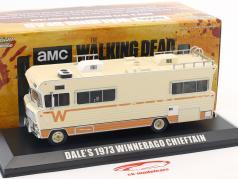 Dale's Winnebago Chieftain année de construction 1973 Série TV The Walking Dead (depuis 2010) beige 1:43 Greenlight