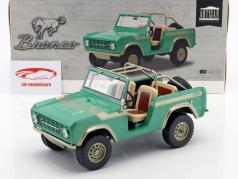 Ford Bronco Baujahr 1976 TV-Show Gas Monkey Garage (seit 2012) grün 1:18 Greenlight