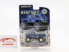 Ford F-250 ano de construção 1974 Bigfoot Original Monster Truck azul 1:64 Greenlight