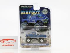 Ford F-250 ano de construção 1974 Bigfoot Original Monster Truck azul 1:64 Greenlight