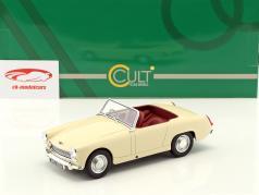 Austin Healey Sprite MK2 ano de construção 1961 creme branco 1:18 Cult Scale