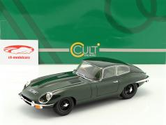 Jaguar E-Type Coupe Series II Baujahr 1968 dunkelgrün 1:18 Cult Scale