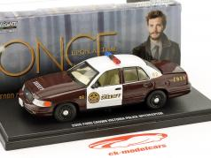 Ford Crown Victoria Police Interceptor 2005 serie TV Storybrooke - Once upon a time 1:43 Greenlight