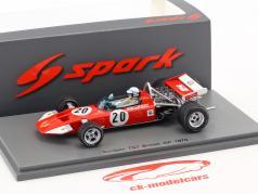 John Surtees Surtees TS7 #20 British GP formel 1 1970 1:43 Spark
