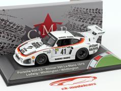 Porsche 935 K3 #41 vencedor 24h LeMans 1979 Ludwig, Whittington, Whittington 1:43 CMR