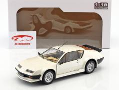 Renault Alpine A310 Pack GT year 1983 white 1:18 Solido
