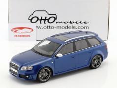 Audi RS4 B7 Bouwjaar 2005 Sepang blauw metalen 1:18 OttOmobile