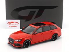 Audi ABT RS6+ Avant C7 année de construction 2016 misano rouge 1:18 GT-Spirit