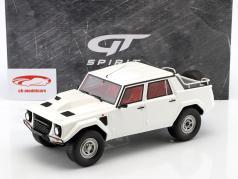 Lamborghini LM002 anno di costruzione 1986 polo parco bianco 1:18 GT-Spirit