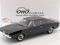 Dodge Charger R/T anno di costruzione 1969 nero 1:12 OttOmobile