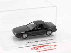 Mazda RX-7 Cabriolet Baujahr (1989–1991) schwarz 1:43 DNA Collectibles