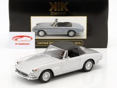 Ferrari 275 GTS Pininfarina Spyder with alloy rims year 1964 silver 1:18 KK-Scale