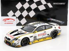 BMW M6 GT3 ROWE Racing #99 vincitore 24h Spa 2016 Martin, Eng, Sims 1:18 Minichamps
