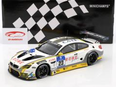 BMW M6 GT3 ROWE Racing #23 24h Nürburgring 2016 Martin, Werner, Eng, Sims 1:18 Minichamps