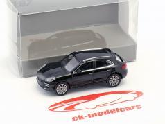 Porsche Macan Turbo année de construction 2013 noir 1:87 Minichamps