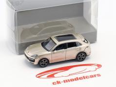 Porsche Cayenne Turbo Baujahr 2017 grau metallic 1:87 Minichamps