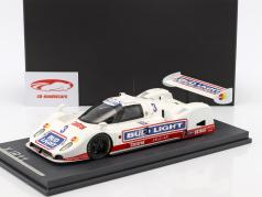 Jaguar XJR10 #3 Presentation Car IMSA 1990 Ehundce, Jones con escaparate 1:18 MCW
