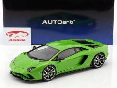 Lamborghini Aventador S anno di costruzione 2017 mantis verde 1:18 AUTOart