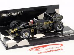 Nigel Mansell Lotus 95T #12 formule 1 1984 1:43 Minichamps