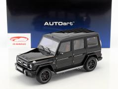 Mercedes-Benz AMG G63 year 2017 gloss black 1:18 AUTOart