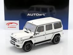Mercedes-Benz AMG G63 year 2017 gloss white 1:18 AUTOart