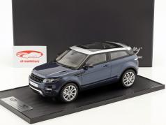 Land Rover Range Rover Evoque year 2011 baltic blue 1:18 Century Dragon