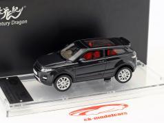 Land Rover Range Rover Evoque year 2011 santorini black 1:43 Century Dragon