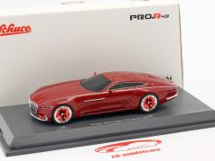 Mercedes-Benz Maybach Vision 6 coupe red 1:43 Schuco