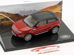 Land Rover Range Rover Evoque ano de construção 2011 firenze vermelho 1:43 Ixo