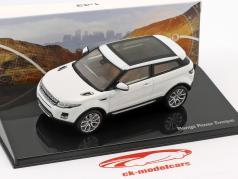 Land Rover Range Rover Evoque Bouwjaar 2011 fuji wit 1:43 Ixo